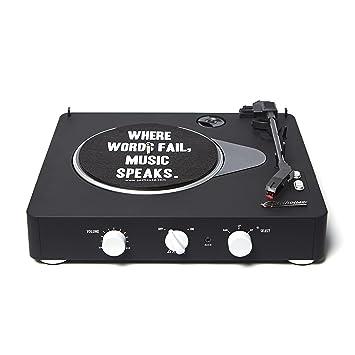 Gadhouse Brad Black Edition - Tocadiscos inalámbrico de 3 ...