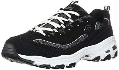 ec486be4bcf0 Image Unavailable. Image not available for. Color  Skechers Sport Women s  D Lites Memory Foam Lace-up ...