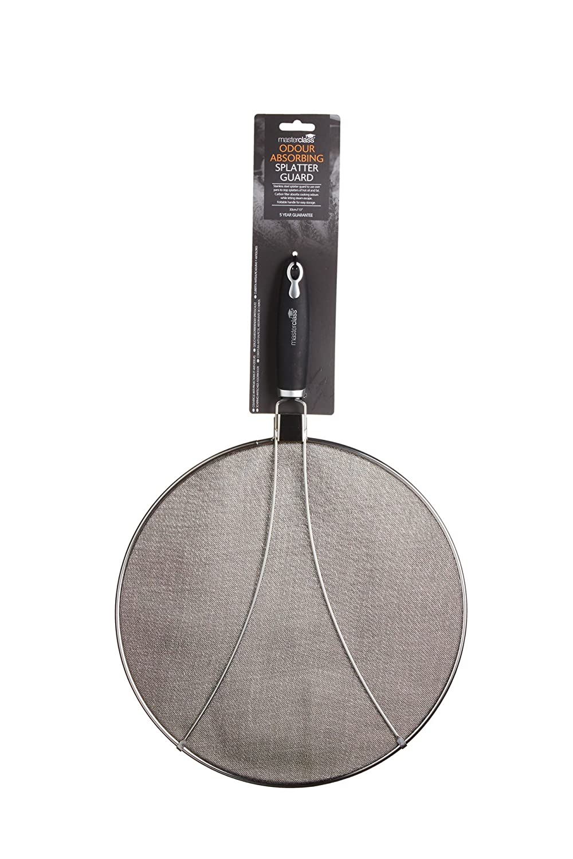 28 x 28 x 18 cm Kitchen Craft MCODSPLAT Culina /écran Master Class 33cm Argent Acier Inoxydable