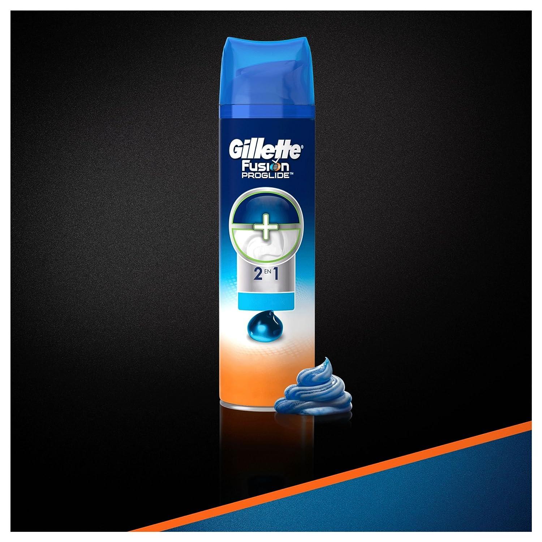 Gillette Fusion Proglide Hidratante Gel de Afeitado - 200 ml ...