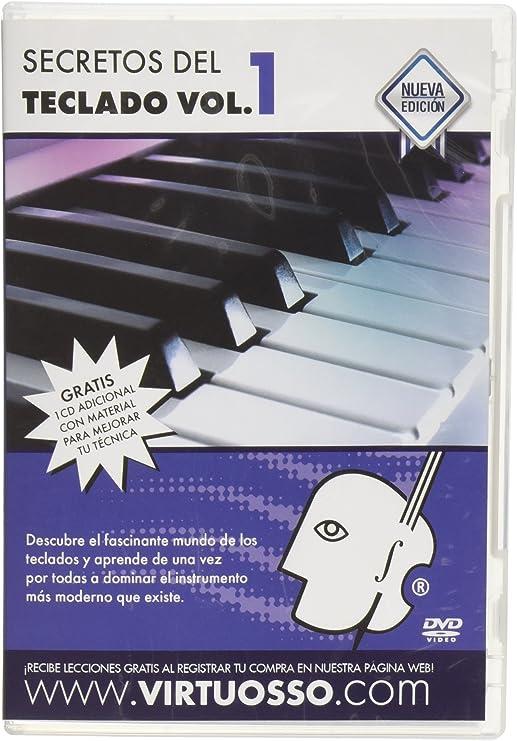 virtuosso Musical teclado método para principiantes 3 DVD (curso completo de teclados para principiantes en 3 DVD) español sólo