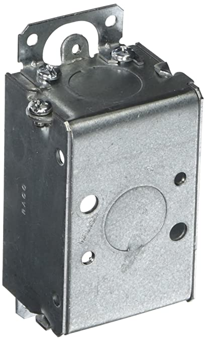 Hubbell-Raco 400 1-1/2-Inch Deep Switch Electrical Box, Gangable with on