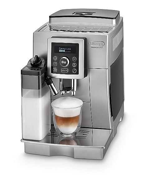 DeLonghi ECAM Cafetera automática compacta con suporte para tazas ...