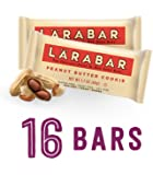Larabar Gluten Free Bar, Peanut Butter Cookie, 1.7 oz Bars (16 Count)