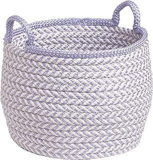 "product image for Colonial Mills Mistique Basket, 18""x18""x17"", Purple"