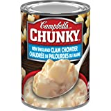 Campbell's Chunky New England Clam Chowder Soup, 540 mL