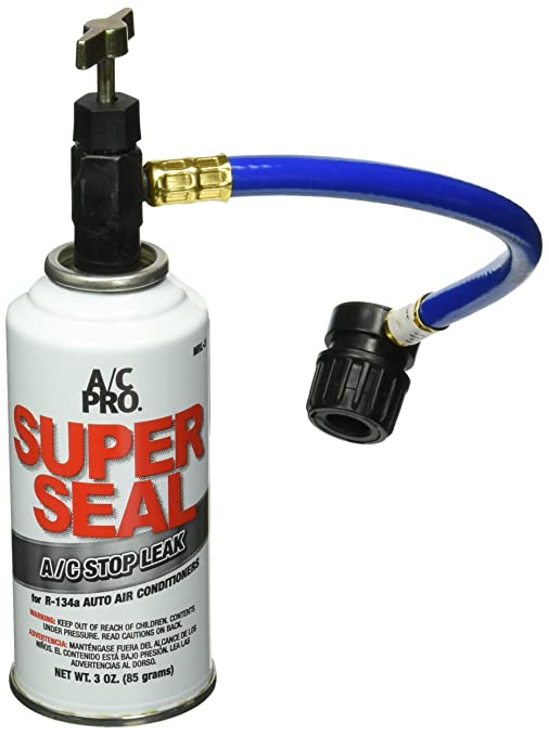 A/C PRO MRL-3 R-134a Super Seal Air Conditioning Stop Leak Kit - 3 oz