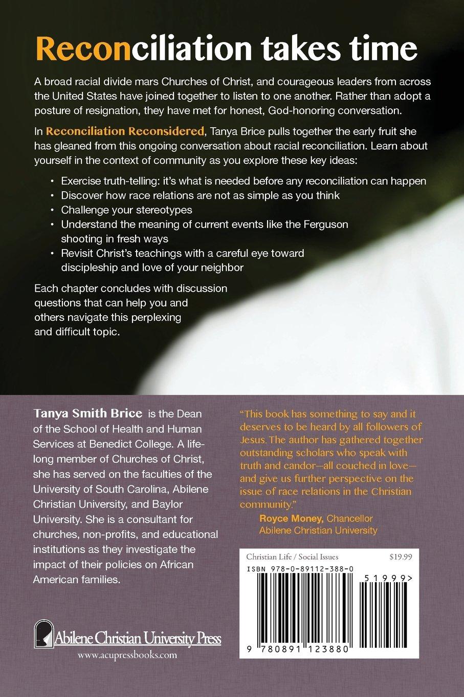 Reconciliation Reconsidered Tanya Brice 9780891123880 Amazoncom Books
