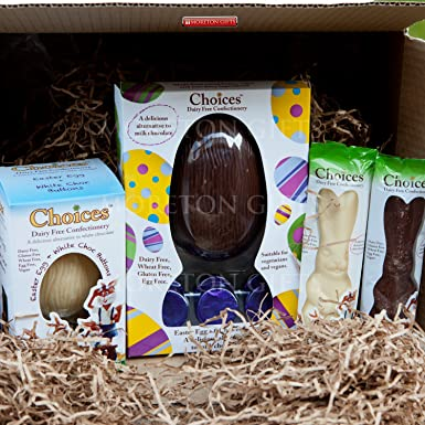 Choices dairy free gluten free easter egg treat box the perfect choices dairy free gluten free easter egg treat box the perfect easter gift by negle Image collections
