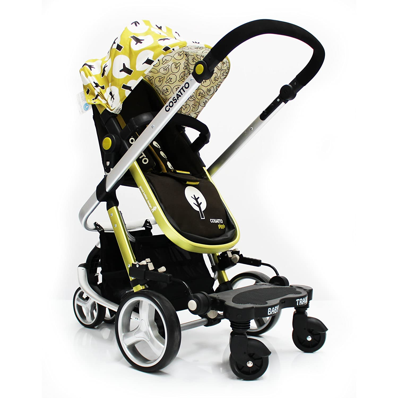 Baby Travel Stroller Pram Three Wheeler Buggy Board Kiddie Kiddy Board For Cosatto Giggle Black BABY TRAVEL LTD