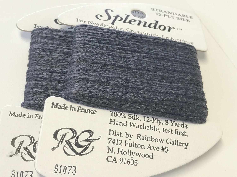 Splendor Silk THREAD-COLOR-S1073-MIDNIGHT Gray-1 Card in This Offer