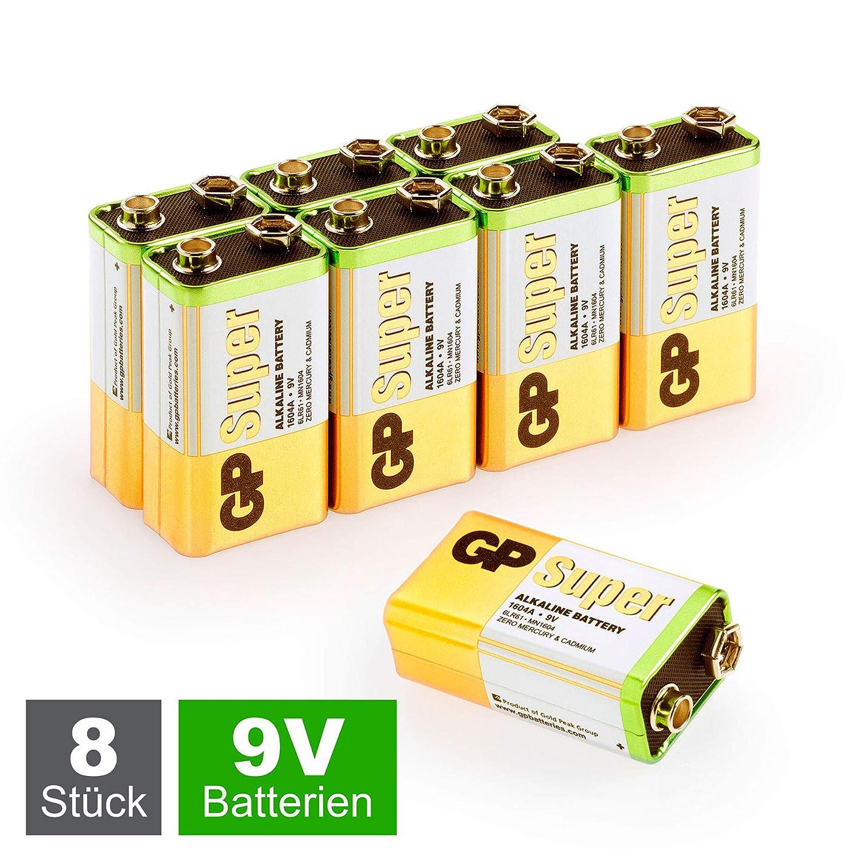 GP Batteries 23A/A23/MN21 - Pilas alcalinas de Alto Voltaje ...