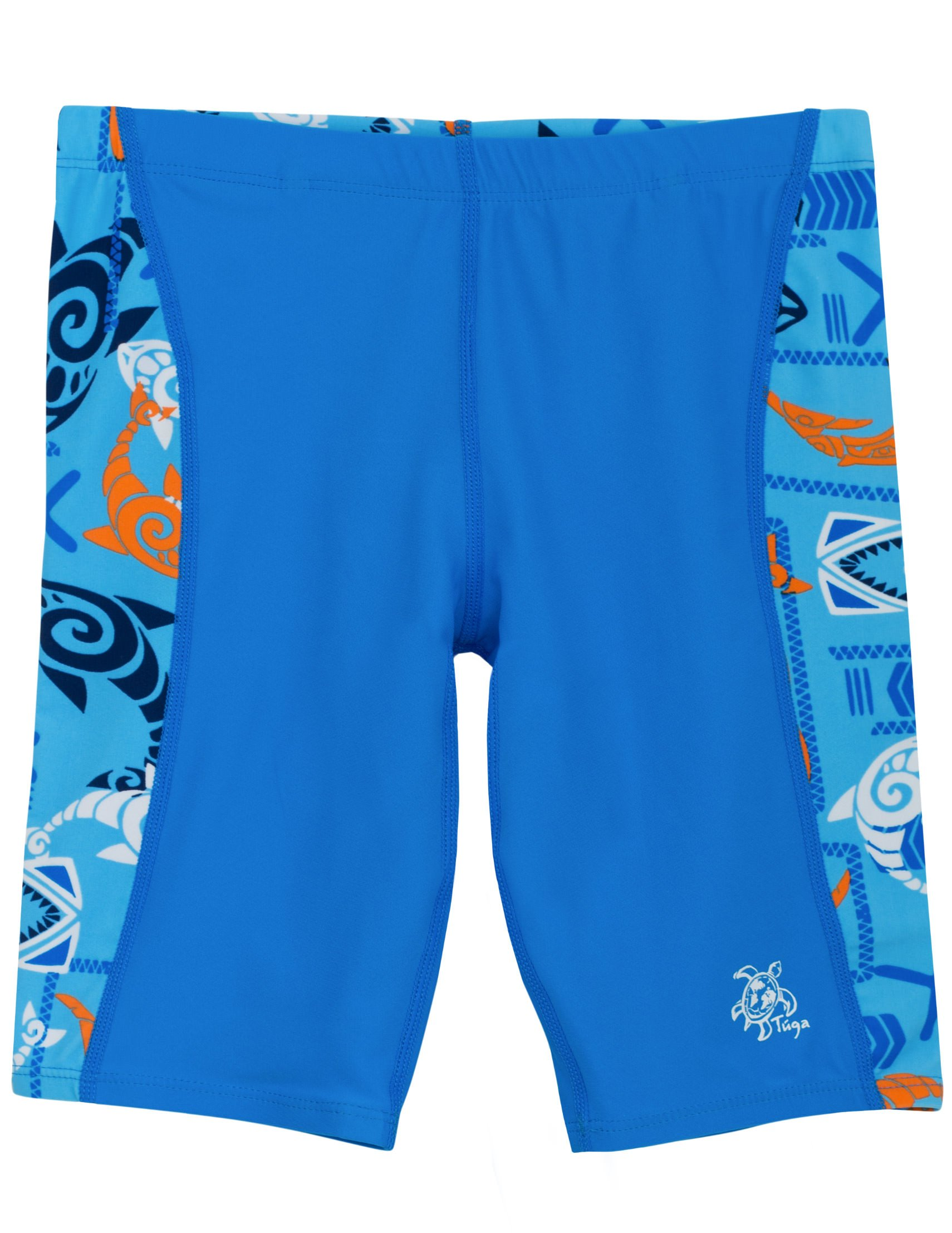 Tuga Boys Jammer Swim Short (UPF 50+), Night, 4/5 yrs (19.5'')
