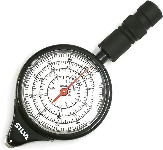 Outdoor Hiking Camping Map Measuring Gauge Range Finder Meter Scale Compass JD