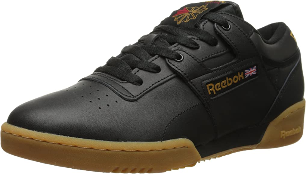reebok classic workout sneakers with gum sole