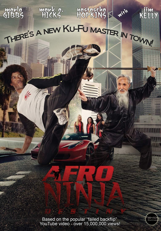 Amazon.com: Afro Ninja: Mark A. Hicks, Mark Hicks, Bill ...