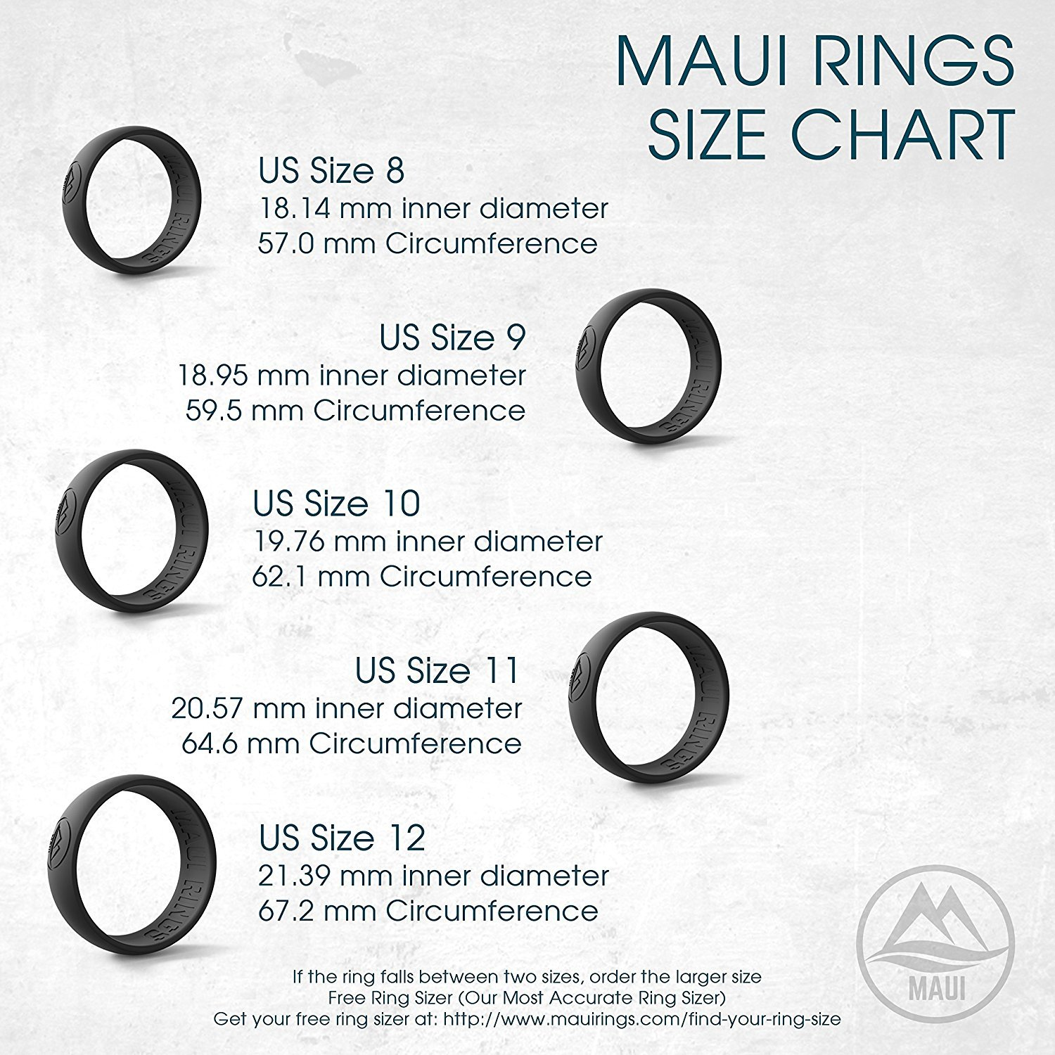 MAUI RINGS Silicone Wedding Ring Engagement Rings for Men Wedding Band Mens Ring Rubber Bands Rubber Ring Mens Rings Silicone Ring Surf Fitness Exercise (ARCTIC CAMO, 12)
