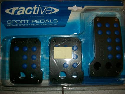 Amazon.com: Sport Pedals Ractive TP701 BL Black and Blue: Everything Else