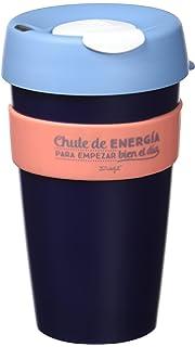 Mr. Wonderful Take Away Cup, Blanco: Amazon.es: Hogar