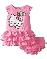 Hello Kitty Baby Girls' 2 Piece Dress