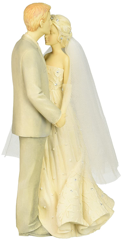 Amazon.com: Foundations Love Couple Stone Resin Figurine, 9.37 ...