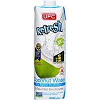 UFC Refresh UHT 100% Coconut Water, Tetra, 1L
