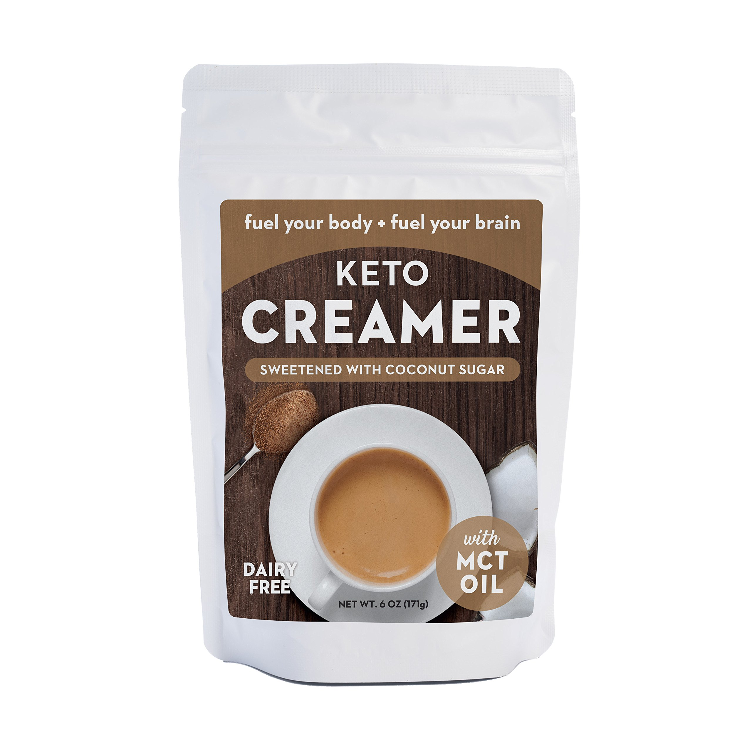 Amazon.com: Keto Coffee - Gourmet Sugar-Free Complete Instant Coffee Drink with 6g of MCT for ...