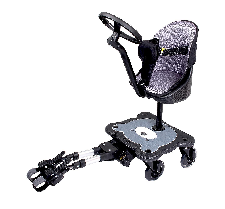 Mee-go - Tabla para cochecito de 4 ruedas con luces LED y ruedas ...