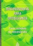 Mecanografía para oposiciones. Curso completo de mecanografía.