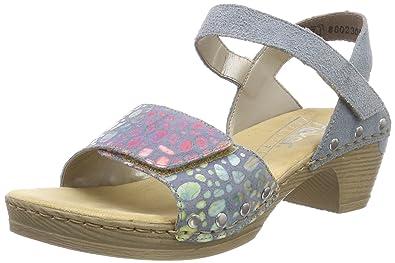 Rieker Damen 66863 Geschlossene Sandalen: : Schuhe