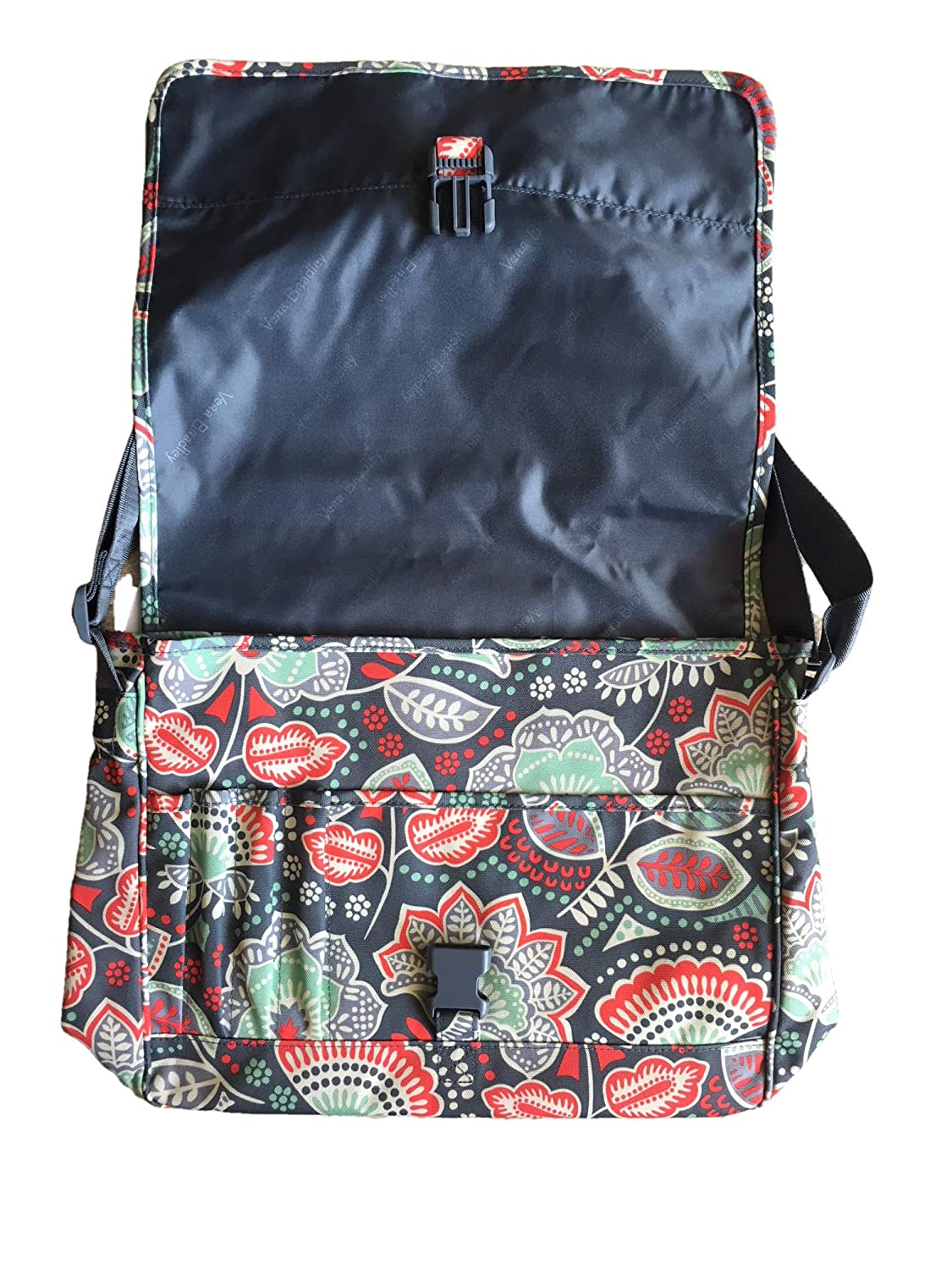70b498aecc1 Amazon.com  Vera Bradley Messenger (Nomadic Floral)  Computers   Accessories
