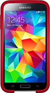 OtterBox 77-39969 Symmetry Series for Samsung S5 - Cardinal