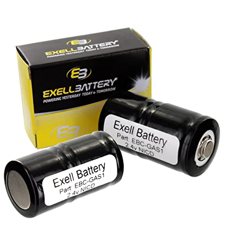 Amazon.com: Batería para TIF 8800 2pk 2,4 V Contador De Gas ...