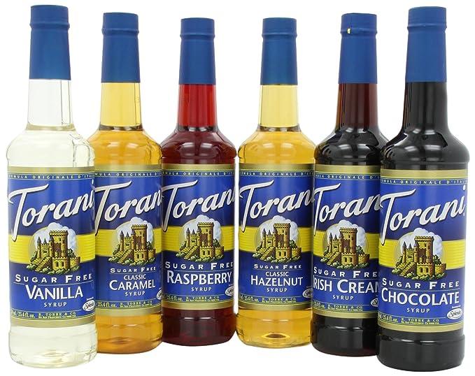 Sugar Free Syrups by Torani