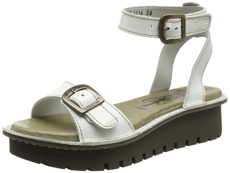 Sandales Fly Femme Compensées London 14317 Kyra457 Blanc I0w0pxz8gq