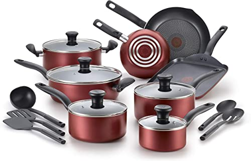 T-fal, Red Initiatives Nonstick Cookware Set