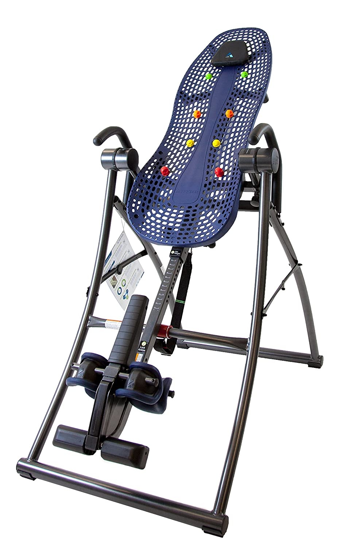 Amazon.com : Teeter Contour L3 Inversion Table, Blue/Gray : Sports ...