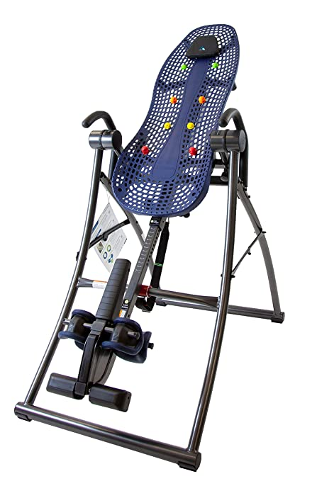 Teeter Contour L3 Inversion Table with Easy-to-Reach Ankle Lock, for Back  Pain Relief, FDA-Registered, 3rd-Party Safety Certified, Precision