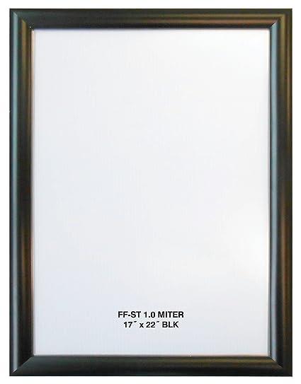 Amazoncom X Black Aluminum Snap Frame Profile Wall - Alpina snap frames