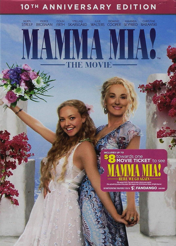Mamma Mia: Movie Edizione: Stati Uniti Italia DVD: Amazon.es ...