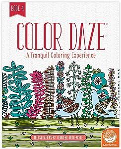 MindWare Color Daze Adult Coloring Book: Book 4
