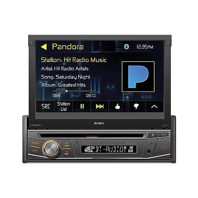Jensen VX3518 7 Inch Flip Out DVD Receiver with Bluetooth: Car Electronics