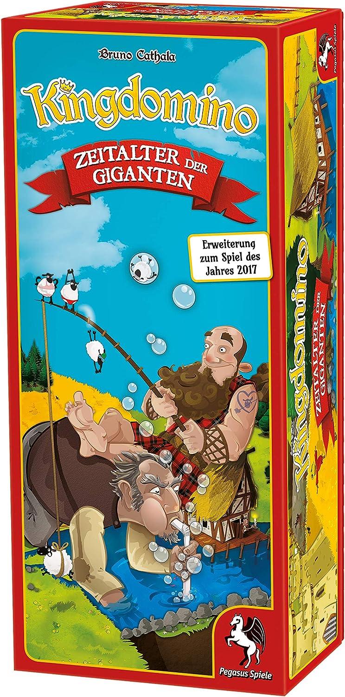 Pegasus Spiele 57105G Kingdomino La era de los Gigantes (extensión): Cathala, Bruno: Amazon.es: Juguetes y juegos