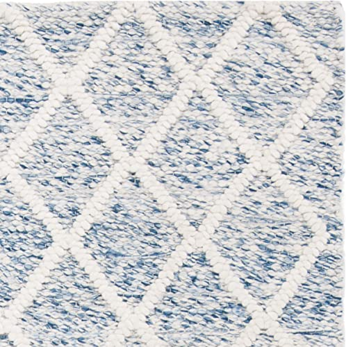 Safavieh Natura Collection Vintage Area Rug, 2 x 3 , Ivory Blue
