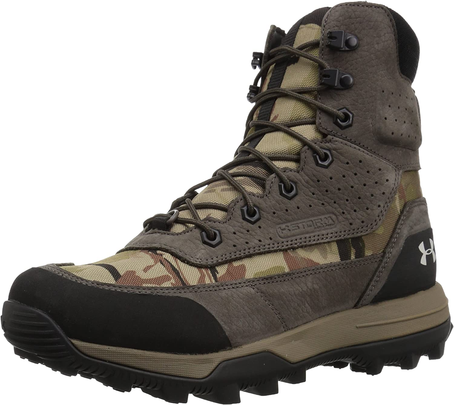 Under Armour Women's Speed Freek Bozeman 2.0 Ankle Boot, Ridge Reaper Camo Ba (900)/Maverick Brown, 11 M US