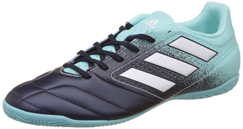 Adidas Herren Ace 17.4 IN S77102 Futsalschuhe, Mehrfarbig (Energy Aqua F17 ftwr Weiß Legend Ink F17), 44 EU