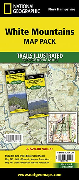 Amazon.com: White Mountain National Forest [Map Pack Bundle ...