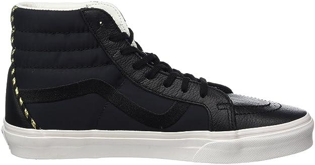Vans Sk8-Hi Reissue DX, Zapatillas para Mujer, Negro (California Souvenir/Black/Blanc de Blanc), 39 EU