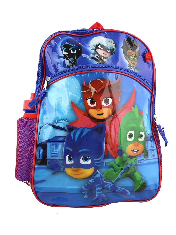 Amazon.com | PJ Masks Boys 6 piece Backpack School Set (One Size, Blue) | Kids Backpacks
