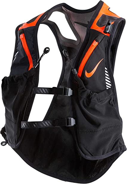 Nike Trail Kiger Vest, Medium, (BlackTotal Crimson)